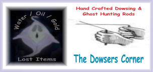 The Dowsers Corner Dowsing Rods & Radio Supplies